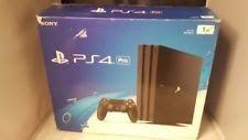 Sony PlayStation 4 Pro 1TB Black Console