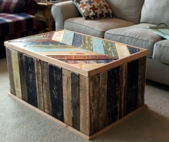 17 meilleures id es propos de tables basses rustiques for Grande table de salon en bois