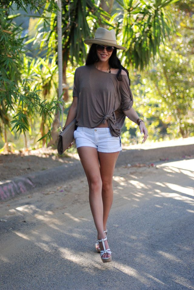 Cute Pool Party Outfits   Taupe-iary ~ What to wear to a Pool Party
