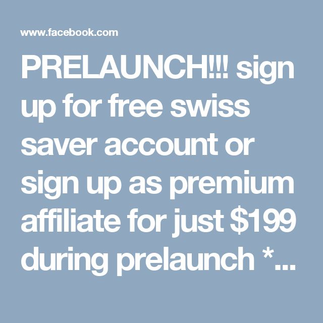 PRELAUNCH!!! sign up for free swiss saver account or sign up as premium affiliate for just $199 during prelaunch * SWISS CERTIFIED GOLD & SILVER * BITCOIN LIFE TIME MINING CONTRACTS earn commissions of from $70 - $500 per contract JOIN HERE: http://amadat.swissgoldglobal.com