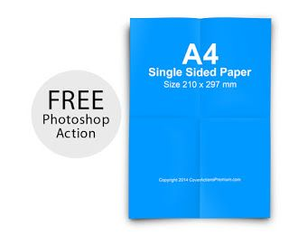Free Photoshop Cover Actions, Mockup Free Download: More Photoshop Cover Action Free Downloads