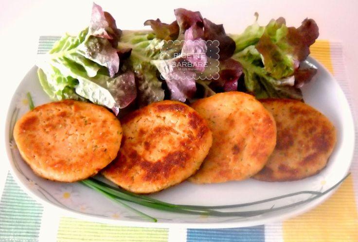 Ricette Barbare: Burger di trota salmonata or Salmon trout burger