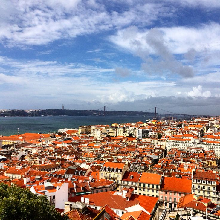 Top View of Lisbon