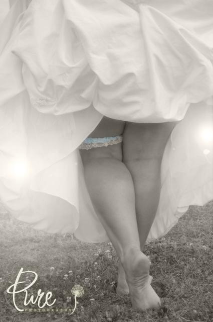 Wedding Day Garter