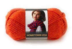 Hometown USA Yarn from Lion Brand Yarn - These look like they'd be fun to work with and there's a nice variety of colors!