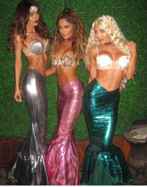 Costume idea for the next mermaid parade!