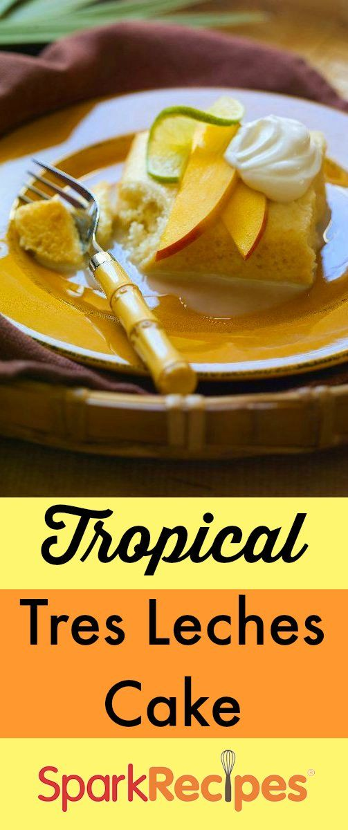 Tres Leches Cake with Mango and Lime | Recipe | Summer, Summer cakes ...