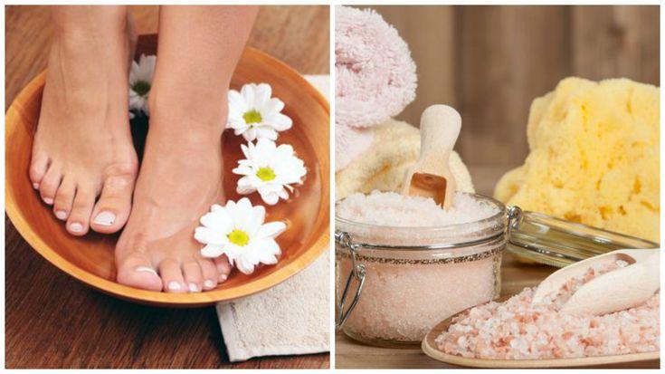 El baño para los pies es una actividad relajante que ayuda a combatir la tensión muscular mientras promueve la desintoxicación de la piel. ¡Disfrútalo!