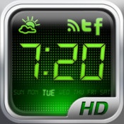 Alarm Clock HD  By Alarm Clock Company    Alarm Clock HD brings Music to your Bedroom and keeps your iPhone & iPad Connected to the News and your Social Media Friends!