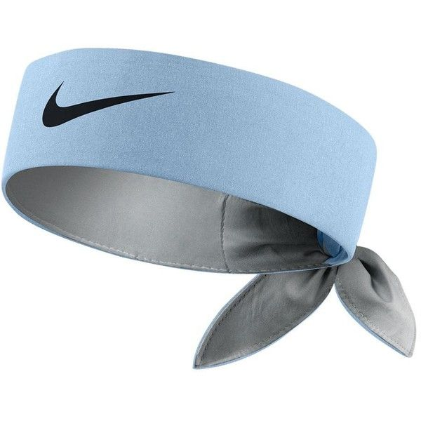 Nike Tennis Headband ($17) ❤ liked on Polyvore featuring accessories, hair accessories, head wrap headbands, nike, hair band headband, hair band accessories and nike headwrap