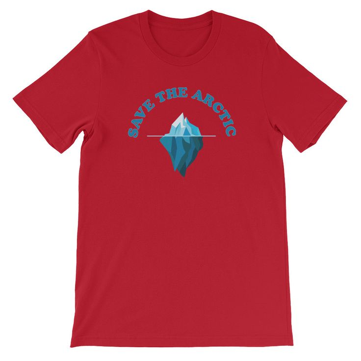 Save The Arctic - Unisex Short Sleeve T-Shirt