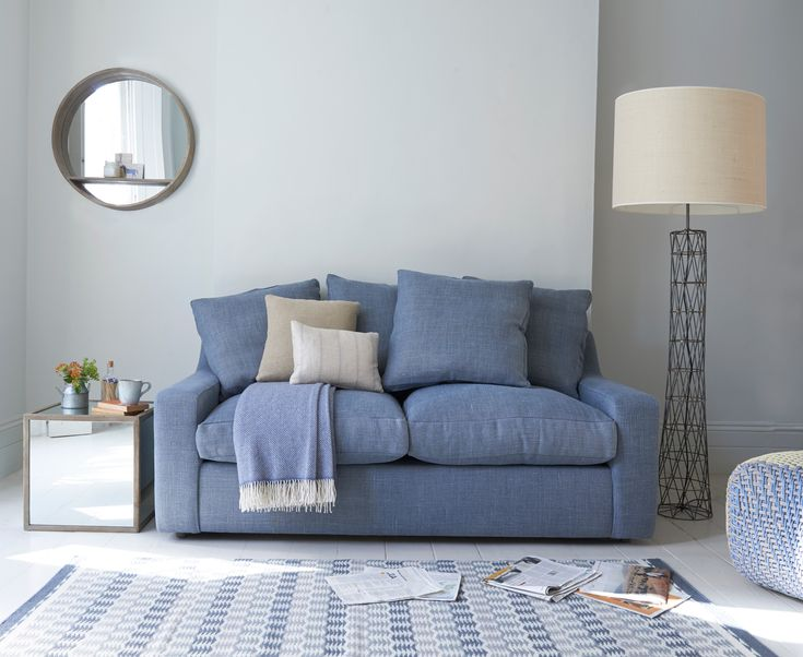 "How comfy is this sofa bed? The clue is in the name. We like the way the back cushions have ""box edges"" as it lifts the whole feel to a classy, laid-back level."