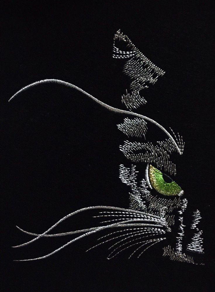 картинка на черном фоне бисером