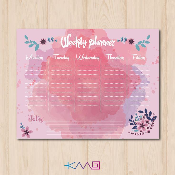 W E E K L Y- P L A N N E R <3 Descarga plantilla de organizador semanal o bien puedes usarlo como horario escolar   Link Descarga:  https://www.dropbox.com/sh/j2icb9ocdcpmy6e/AAAaX0Nb8MZ06QHtCX1U720Ha?dl=0  #back2school #weeklyplanner #freeprintable #backtoschool #school #schedule #horario #organizador #planner #illustration #design #flowers #girly #pink #week #hechoconamor #femenino #art