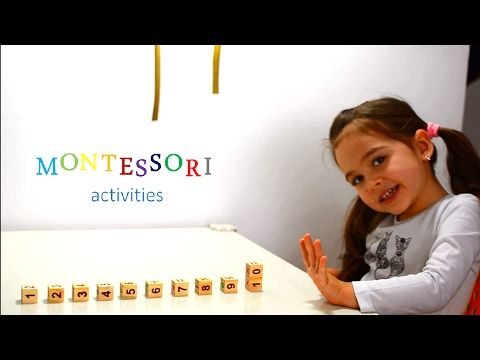 Learn Numbers Shapes and Colors - Montessori activities - kids play education - teaching methods