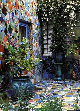 17 best images about tile and mosaic on pinterest patio mosaics and sea glass mosaic - Basics mosaic tiles patios ...