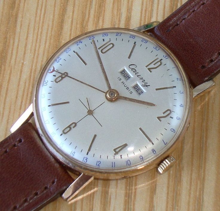 Vintage from circa 1960's Cauny production. Professionally restored DIAL to the exact original Cauny specification.