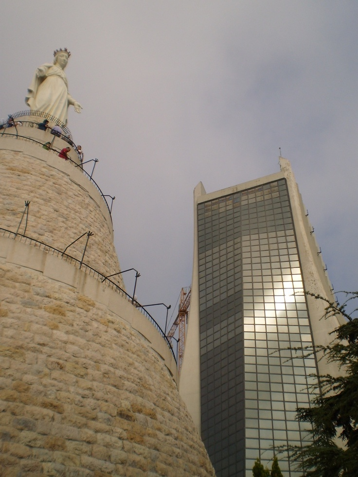 #Lebanon, 2010. An unexpected destination ended to be the best traveling experience I've ever had.    Here, The Lady of Lebanon - Harissa.  We cover the world over 220 countries, 26 languages and 120 currencies hotel and flight deals.guarantee the best price multicityworldtravel.com
