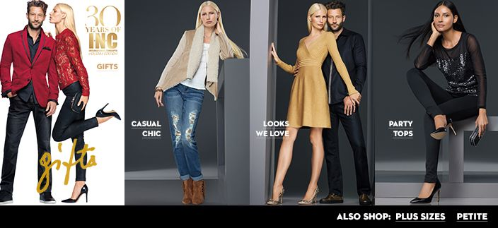 30 Years of INC, Gifts, Casual Chic, Looks We love, Party Tops - love almost anything from INC!