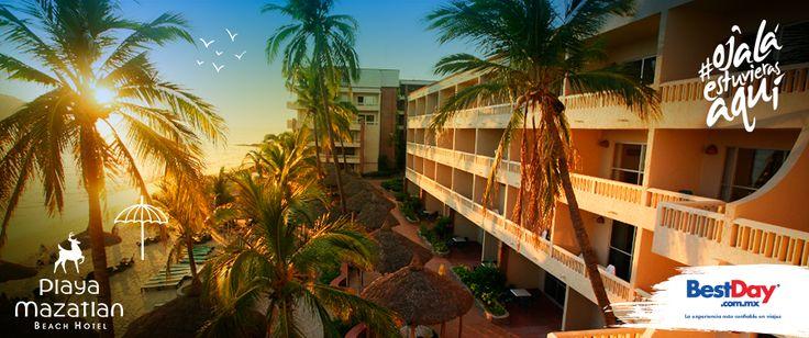 El programa de actividades del Hotel Playa #Mazatlan consiste en talleres de manualidades, juegos, acondicionamiento físico, cine al aire libre y una variada lista de paseos y excursiones locales. #BestDay #OjalaEstuvierasAqui