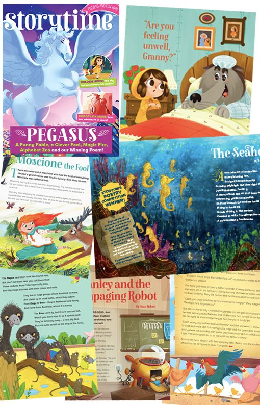A peek inside Storytime Issue 32! Find out more here: STORYTIMEMAGAZINE.COM