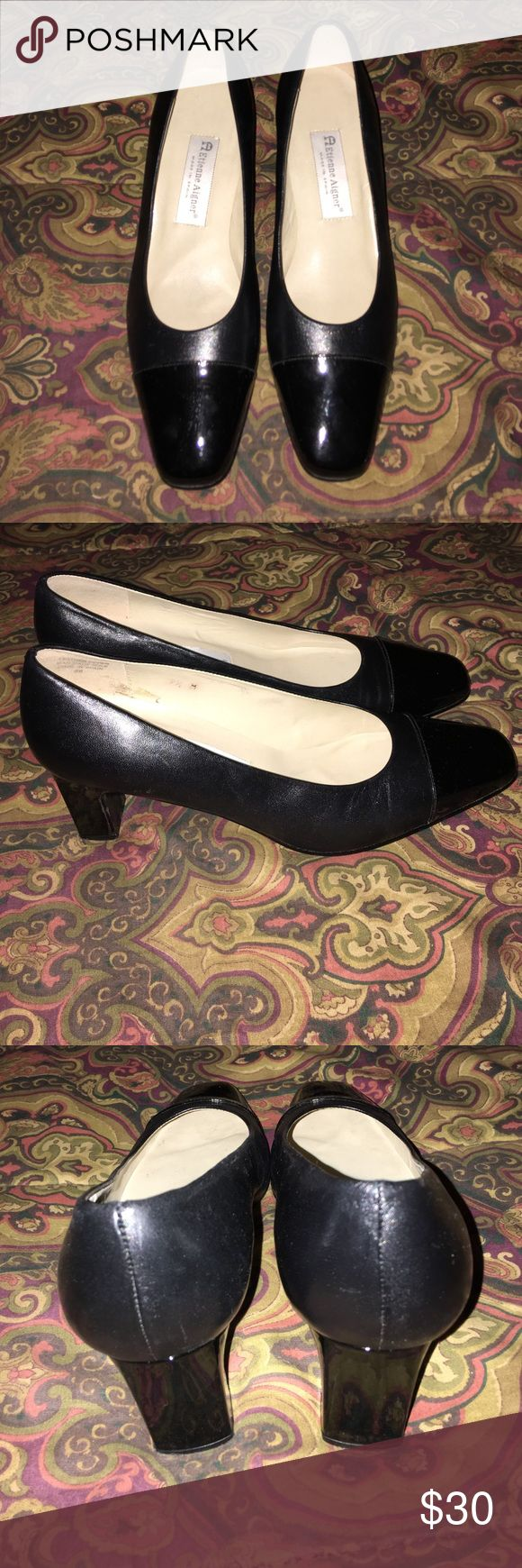 Beautiful Heels By Etienne Aigner 9.5 These shoes are in EUC. The have genuine leather uppers and are so comfortable. Pretty much flawless 💕💕💕 Etienne Aigner Shoes Heels