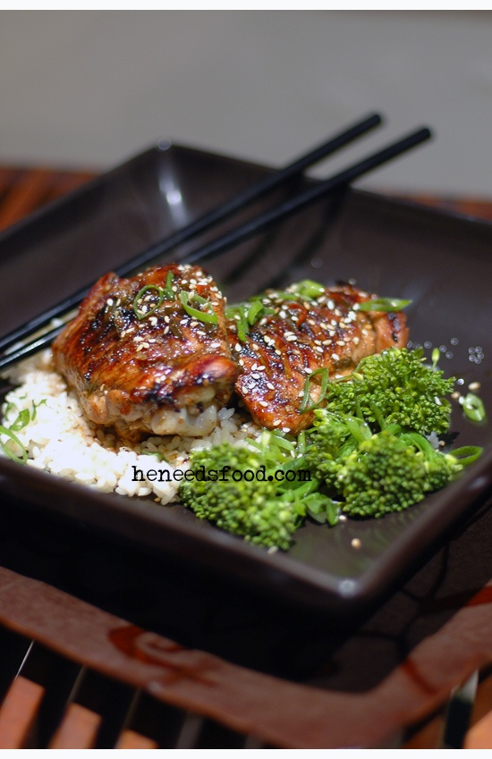 Black vinegar & sesame chicken