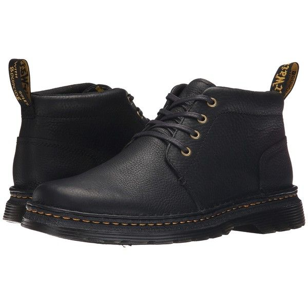 Dr. Martens Lea 4-Eye Chukka Boot Men's Lace-up Boots ($115) ❤ liked on Polyvore featuring men's fashion, men's shoes and men's boots