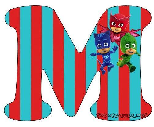 Alfabeto-heroes-en-Pijamas-Letra-m-Letters-Pj-Masks.jpg (502×416)