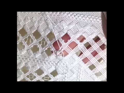 Hardanger Embroidery, Lesson 10, Dove's Eye Part 1 - YouTube