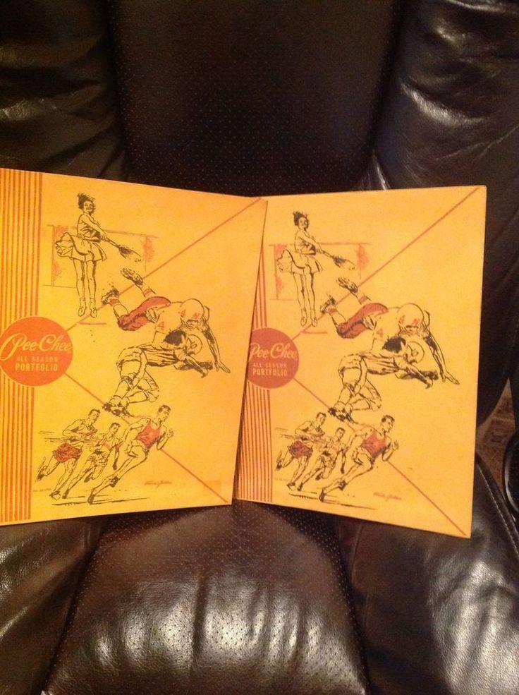 2 vtg Mead Pee Chee Folders 33-1750 #Mead