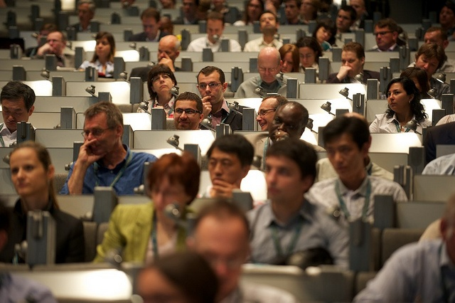 Audience at the 19th European Biomass Conference and Exhibition #biomass #biofuels #bioenergy #pellets