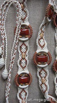 """Декоративный пояс плетеный """"нарядный 3"""" - вязание и вышивка, плетение, эксклюзивные ремни и пояса. МегаГрад - город мастеров"""