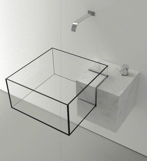 Minimalist Bathroom Items: Diseños De Lavabos Para Baños, Originales Y Exclusivos