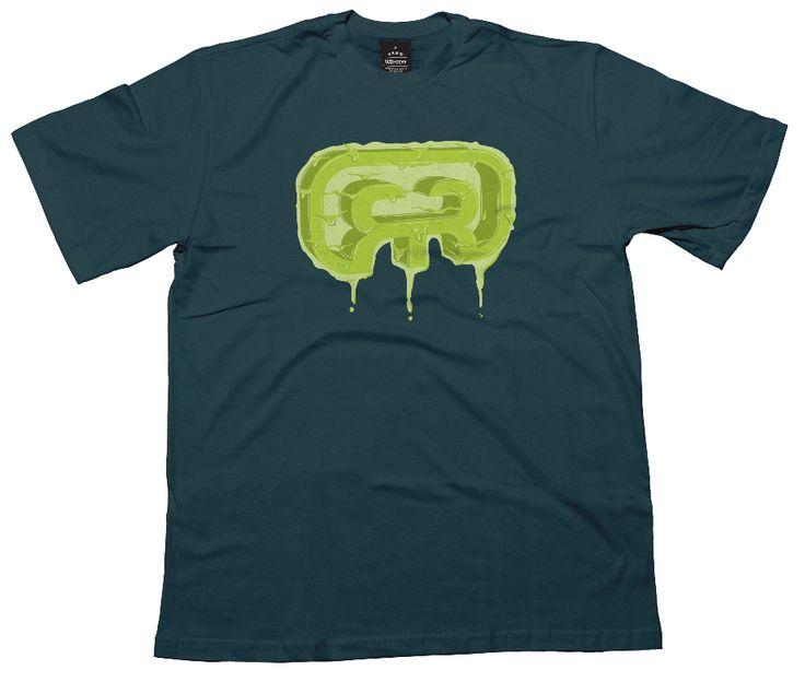 """Slimer"" t-shirt logo hocks"