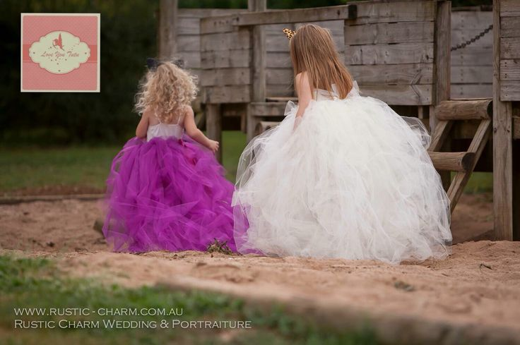 Totally in love with these beauties in their full length tutu's