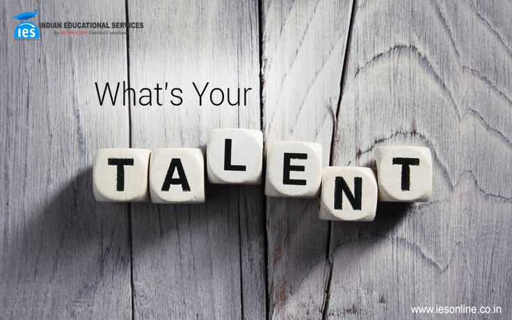 Everyone has talent. What is rare is the courage to follow it to the places where it leads! What is your talent?
