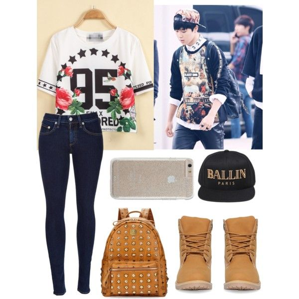 Jimin Bts By Estrella29 On Polyvore Featuring Polyvore Fashion Style Rag Bone Mcm