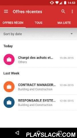 Adecco Jobs In Morocco  Android App - playslack.com , The ideal application for those seeking employment in Morocco. The easiest and fastest way to find job offers. Adecco Jobs is the official Google Play job application for the Morocco market. Adecco is the leading recruitment and staffing company in Morocco, with many vacancies for you to search among. Adecco application also includes a job search guide with tips on how to create a great CV, write a stand-out job application and how to…