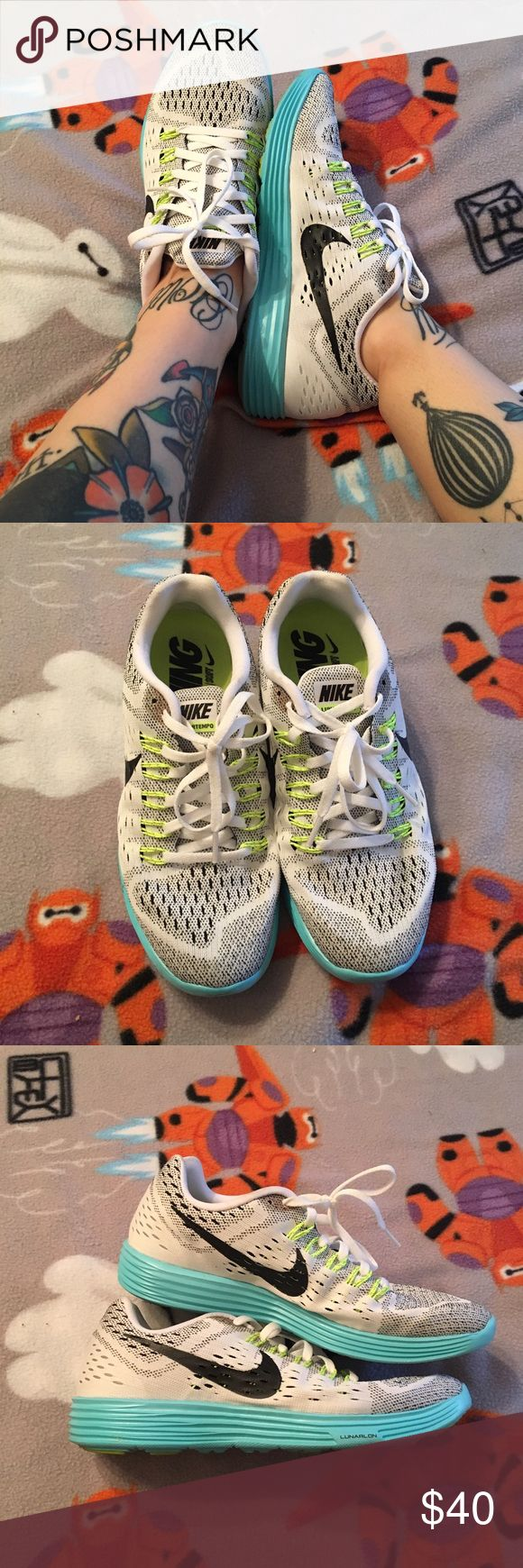 Nike lunar tempo Lightly worn and super comfy Nike Shoes Athletic Shoes