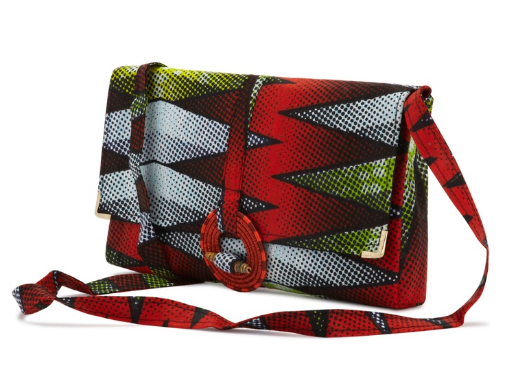 Daisy Fire Printed Clutch by Amy Kathryn from GLAMOUR