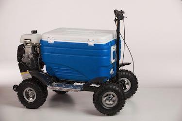 Best Tailgating Gear- Crazy Cooler Motorized Cooler
