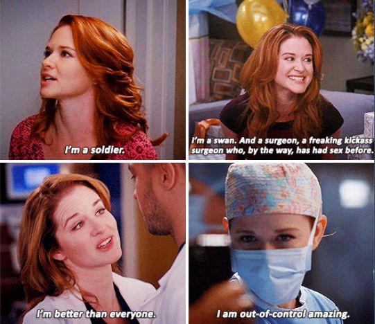 """I'm a freaking trauma surgeon!"""