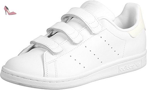 adidas Stan Smith CF J chaussures 4,5 white - Chaussures adidas (*Partner-Link)