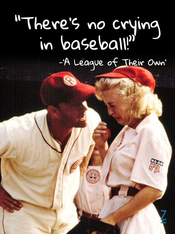 Tom Hanks in 'A League of Their Own'  15 Visual Movie Quotes That Will Reaffirm Your Love for Film