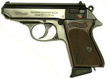 The Walther PPK is the most famous of the Bond handguns