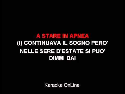 ▶ Summer Night Karaoke (italiano grease) - YouTube