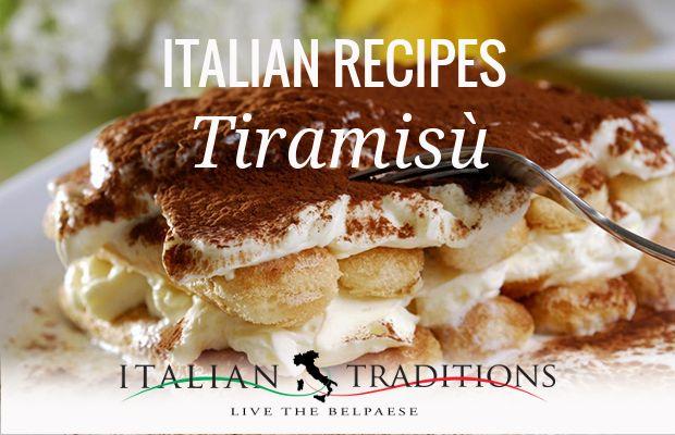 Tiramisù Cake italian original Recipe - Typical Italian Food