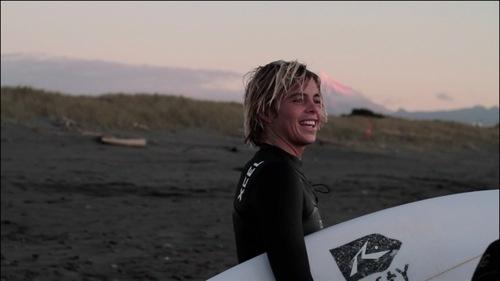 SDS Team Rider Noa Deane in New Zealand. Screen grab Mikey Mallalieu.