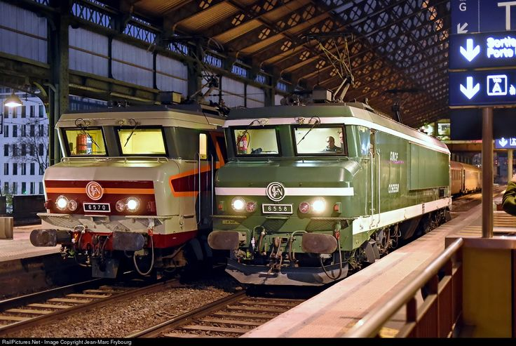 RailPictures.Net Photo: CC 6558, 6570 SNCF CC 6500 at Lyon, France by Jean-Marc Frybourg